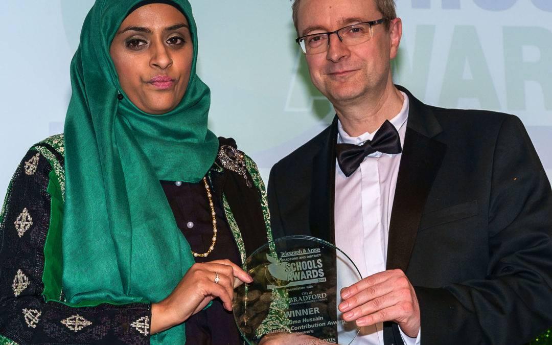 Thornbury volunteer wins Telegraph and Argus award