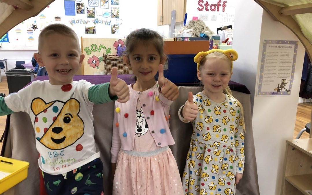 Pupils Get Creative for Children in Need