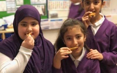 Pupils eat their way through 1,000 bagels a week at free breakfast club