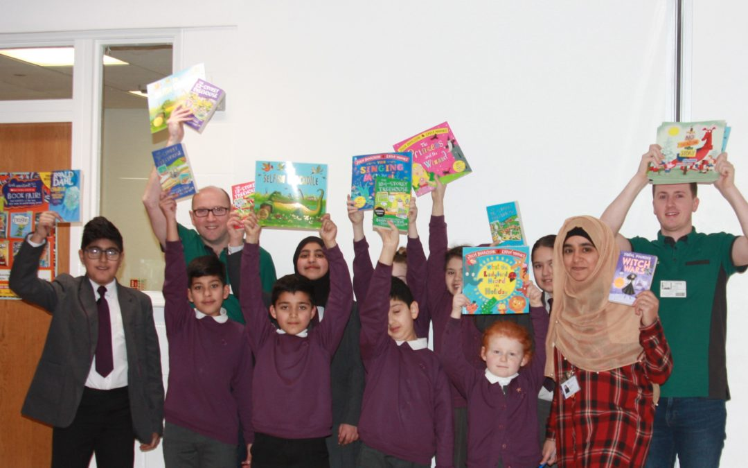 Morrisons donates bundle of books