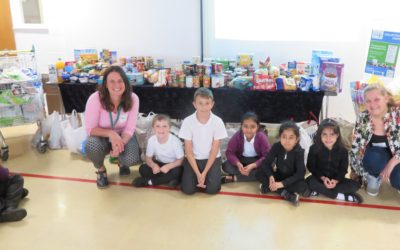 Foodbank benefits from the generosity of pupils